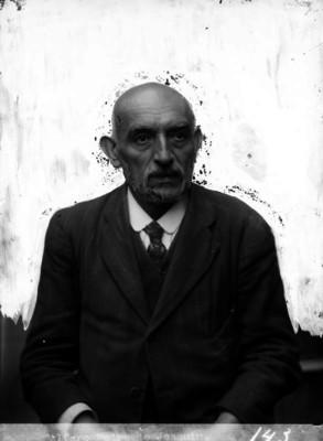 """""""Padre de Joaquín Alfaro"""", retrato"""