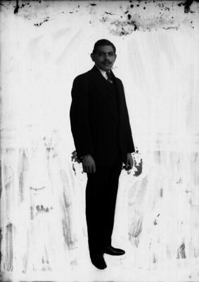 Joaquín Alfaro, retrato