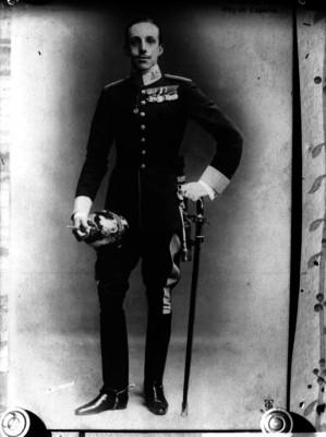 Alfonso XIII, retrato