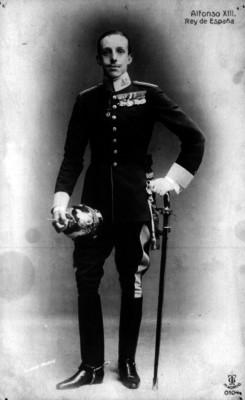 Alfonso XIII Rey de España, retrato
