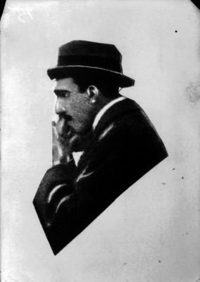 Alfonso XIII, litografía