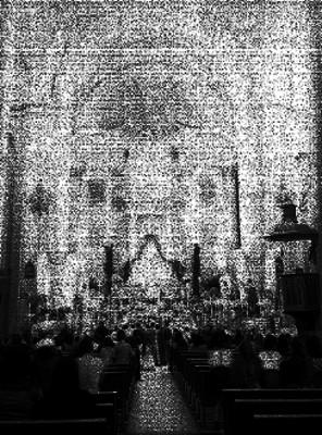 Iglesia durante una ceremonia