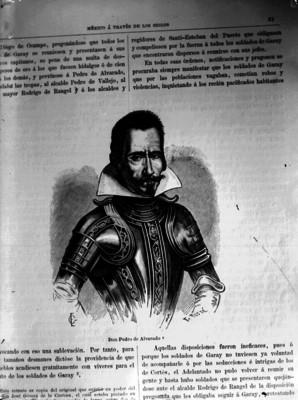 Pedro de Alvarado, reprografía bibliográfica
