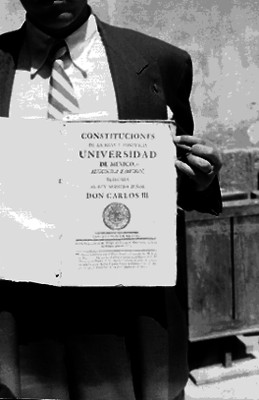 Constitusiones de la Real y Pontificia Universidad de México