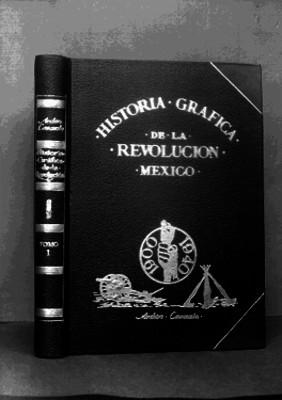 Portada del libro Historia Gráfica de la Revolución