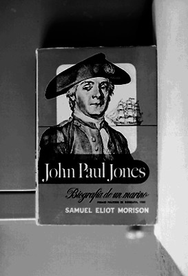 Portada del libro John Paul Jones, biografía de un marino