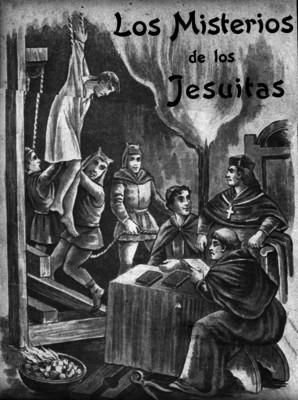 Los Misterios de los Jesuitas, portada del libro