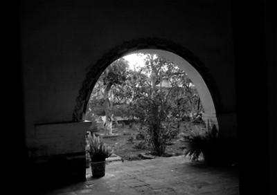 Jardín de la casa de Morelos, en Cuautla