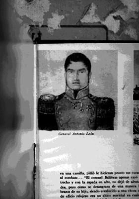 Antonio León, retrato