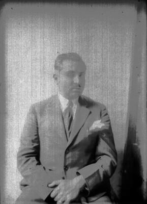 Ángel Aragón, retrato