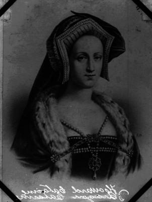 Catalina de Aragón, litografía