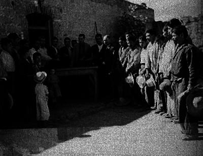Protesta del comite de apoyo a Gaxiola, en un poblado del Edo. de México
