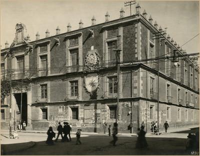 Ex-aduana de Santo Domingo, fachada detalle