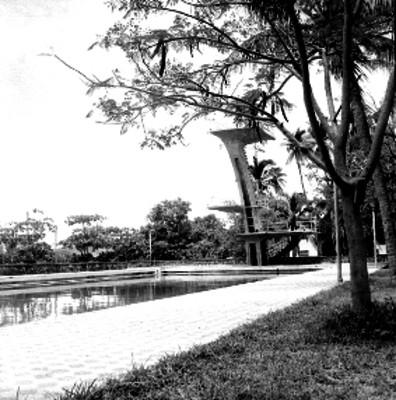 Alberca del hotel Papagayo