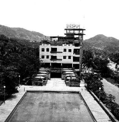 Hotel Papagayo y alberca en Acapulco