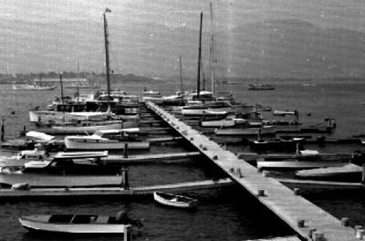 Embarcadero de una bahía de Acapulco