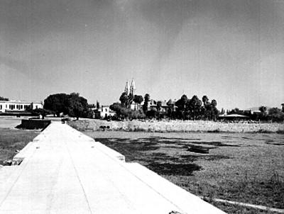 Chapala vista desde el muelle del lago