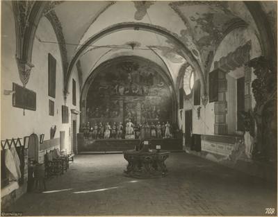 Sacristía, interior