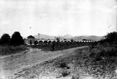 """""""Acueducto de la Villa"""", vista parcial"""