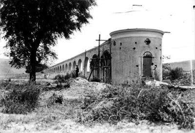 Restauración del acueducto de la Villa