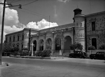 """""""Penitenciaría del Estado"""", fachada, vista parcial"""