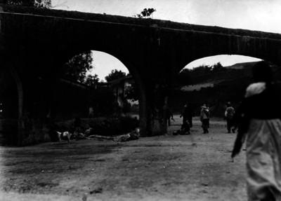 """Camino de Tacubaya a la venta"", vista parcial"