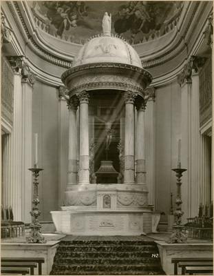 """Ciprés altar mayor """"(de la capilla de Nuestro Señor de Santa Teresa)"""""""
