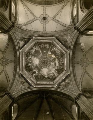 Cúpula, interior y bóveda -Bóveda del Crucero y Cúpula-