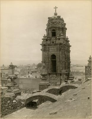 Vista de la Torre de la Iglesia de la Santísima Trinidad