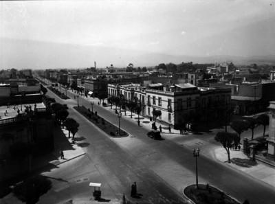 """Avenida Insurgentes"", panorámica"