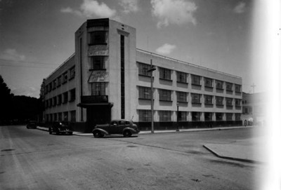 "Edificio de la ""Academia Inglesa"", fachada"