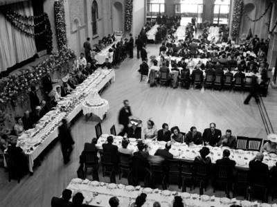 Banquete de bodas de la señorita Lebríja