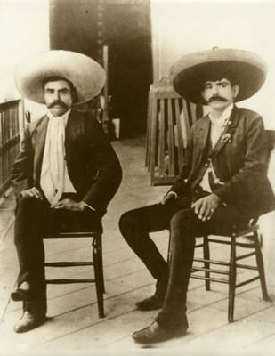 Emiliano y Eufemio Zapata, retrato