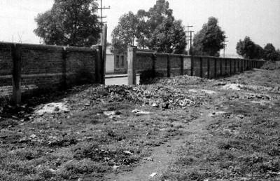 Terreno donde fué construido el Centro Médico de la cd. de México