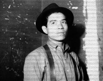 Clemente Sánchez Fernández detenido en la cárcel de Belén, retrato