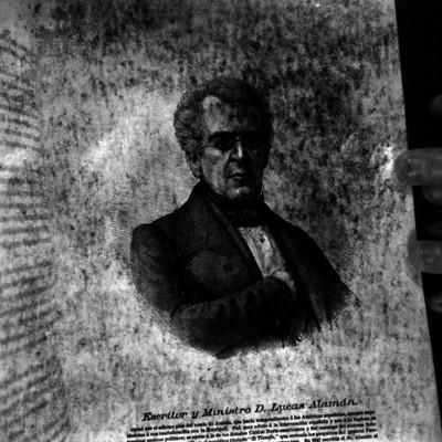 Lucas Alamán, grabado