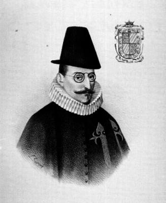 Carrillo de Mendoza y Pimentel Diego, Marqués de Gelve y Conde de Priego XIV Virrey, retrato