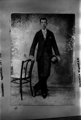 Agustín Casasola, retrato