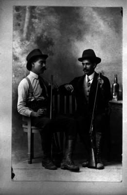 Victor Agustín y Ricardo Casasola, retrato