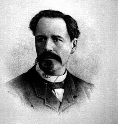 Antonio García Cubas, retrato