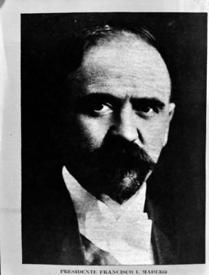 Francisco I. Madero, presidente, retrato, fotografía