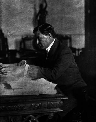 Enrique Zepeda, Ingeniero y gobernador del Distrito Federal, fotografía