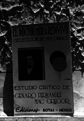 Portada de un libro escrito por Genaro Fernádez Mc. Gregor