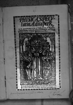 Tratado de física de Alfonso A. Veracruz, portada de libro