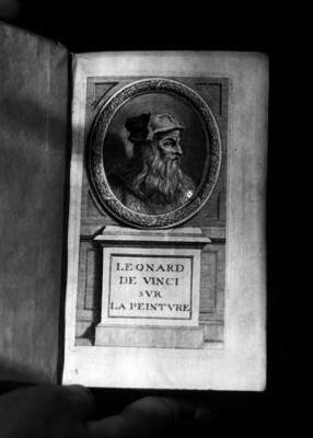 Leonardo de Vinci, grabado