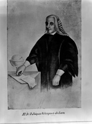 Joaquín Velázquez Cardenas de León, litografía