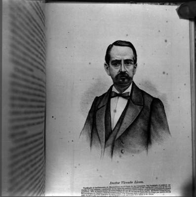 Vicente Licea, grabado