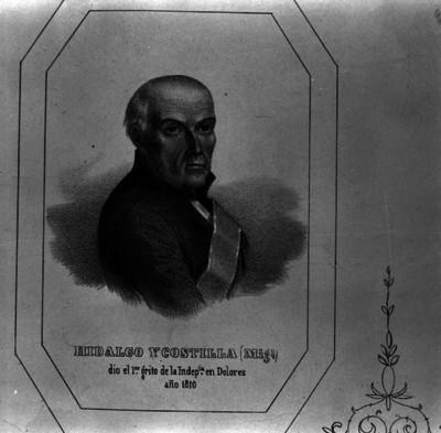 Miguel Hidalgo y Costilla, grabado
