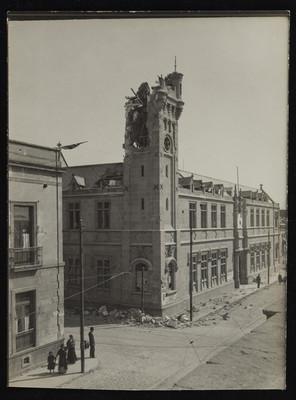 Edificio de la sexta Demarcación destruido, Revillagigedo y Victoria
