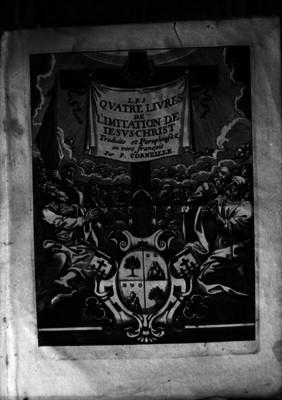 Les Qvatre Livres de Limitatión de Lesus- Christ, porta de libro